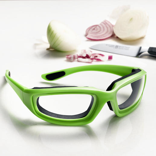 Onion Goggles Chop onions without tears. Exclusive to Pro-Idee.