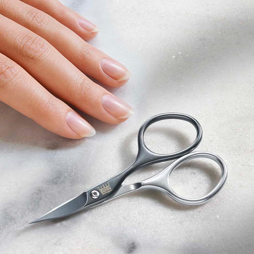Self-Sharpening Nail Scissors Precise, strong and extremely durable.