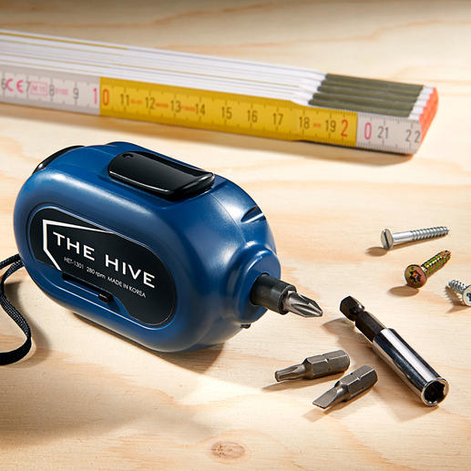 Ultra Compact Cordless Screwdriver - One of the smallest cordless screwdrivers in the world.