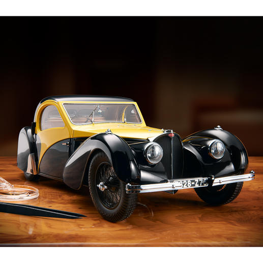 Bugatti Atalante Type 57SC scale 1:12 - The renaissance of a legendary automobile. Limited to just 500 copies.