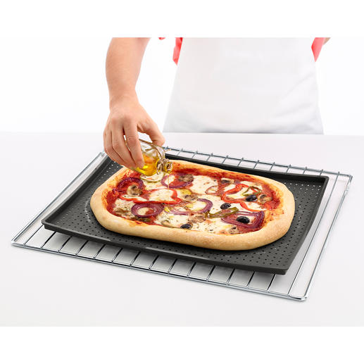 """Crispy"" Baking Mat A baking sheet that produces a really crispy base. Ideal for pizza, focaccia and cakes."