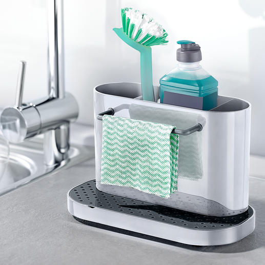 Sink Caddy Holds your washing up equipment – tidy, dry and at hand.
