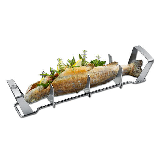 Gefu® Fish Griller Succulently grilled fish – simply unique.