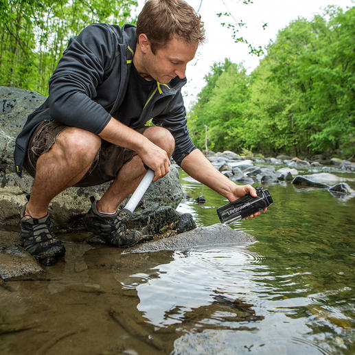 Water Filter Bottle LifeStraw® Go Clean water within seconds. Fits in all backpacks and pockets.