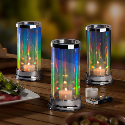 Rainbow Lantern The patented glass lantern with a fascinatingly elegant interplay of light.