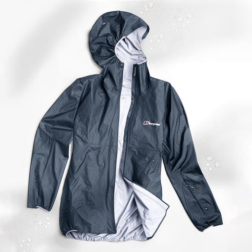 Berghaus Ultralight Outdoor Jacket Berghaus Hyper 100: The first 3-layer outdoor jacket weighing under 100g (3.5 oz).