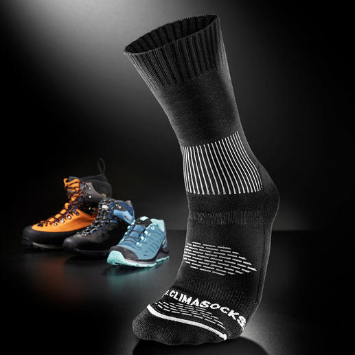 Anti Blister Socks, One Pair - Ingenious: The climate-control sock with built-in blister protection.