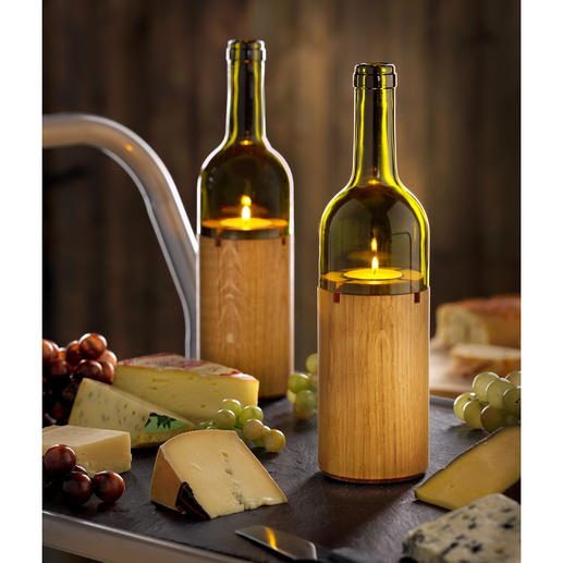 Wine Light - Atmospheric lighting for an al fresco candlelit dinner.