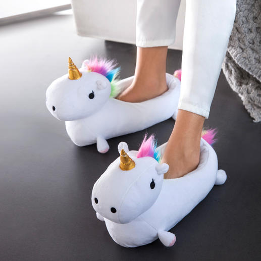 """Unicorn"" Slippers - Wonderful warmth and style for your feet."