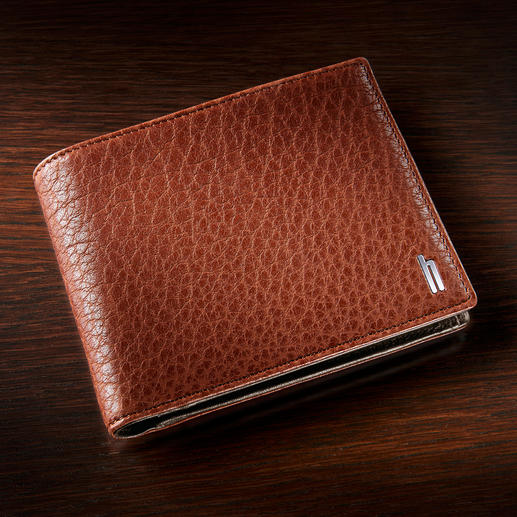 Hartmann Wallet Buffalo Leather The wallet for life: Made of rare buffalo leather, exquisitely processed. By Hartmann.