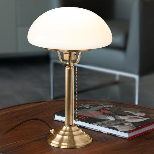 Berlin Brass Mushroom Lamp - A classic from the early days of electricity.