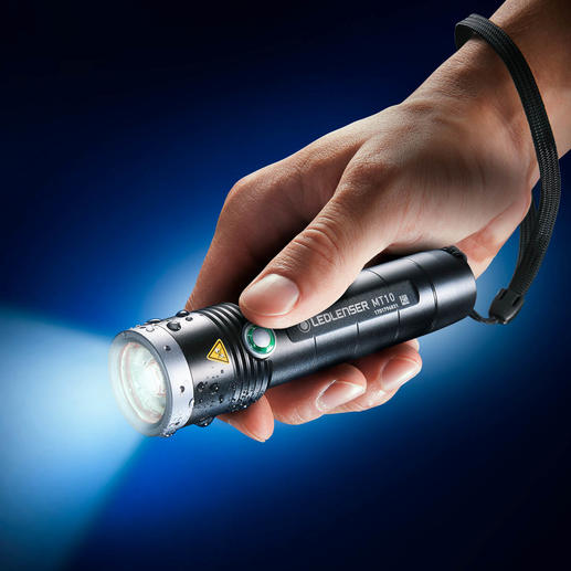 Ledlenser MT10 Outdoor The rechargeable torch for life.