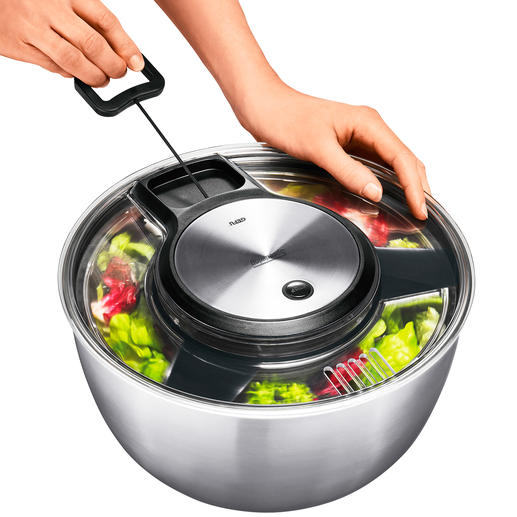 Gefu® Salad Spinner - This award-winning salad spinner is a long-lasting quality product.