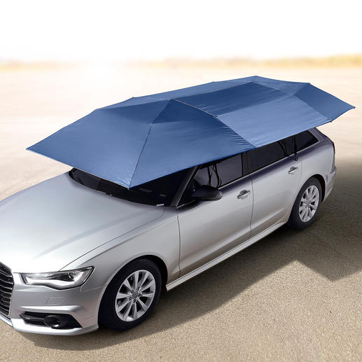 Portable Car Sunshade - The ingenious car sunshade: Protects against UV radiation, heat, rain, dust, bird droppings, tree resin, etc.