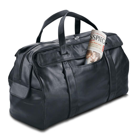 OCONI Travel Case - As elegant and supple as leather – but much less expensive and easier to care for.