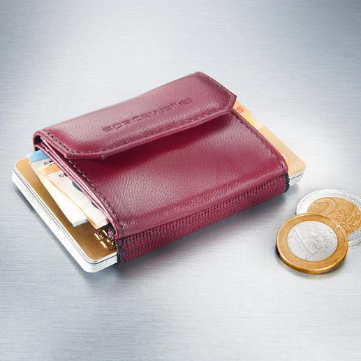 Space Wallet® Mini Women's Wallet - The clever space-saving wonder in women's wallets.