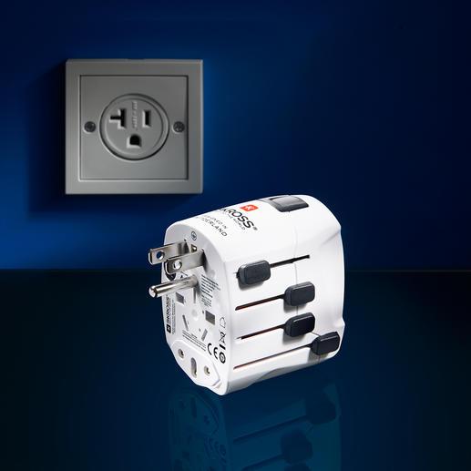 SKROSS® World Travel Adapter PRO World & USB