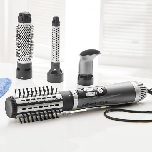 CARRERA Hot Air Brush No 535 - The professional all-rounder among hair-styling tools.