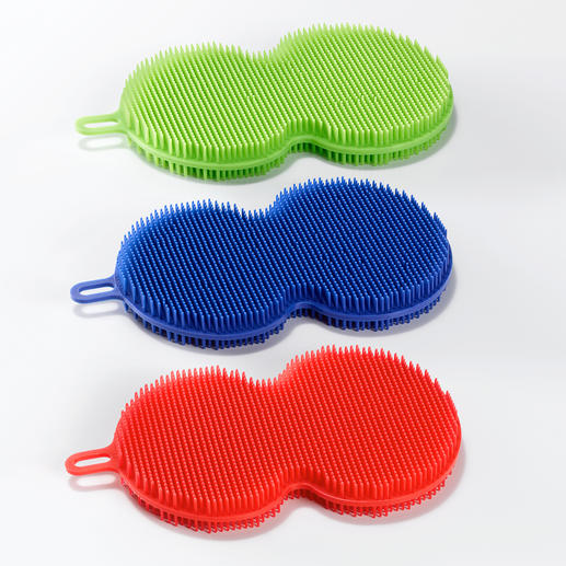 In a practical set of 3 – can be used wet or dry.