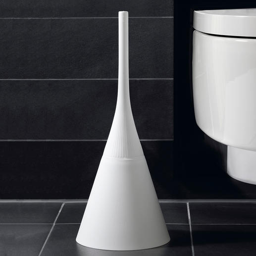 Designer Toilet Brush No comparison to the functional look of conventional toilet brushes.