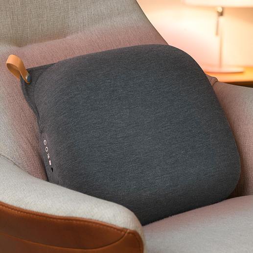 Relax Back Design Massage Cushion High-tech massage cushion in Scandinavian design.