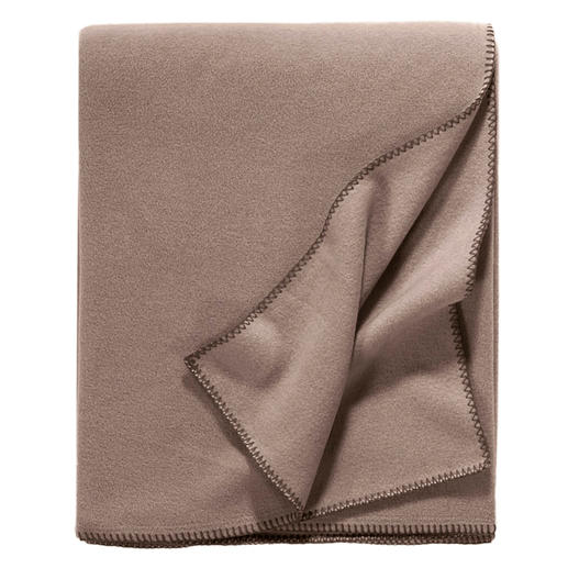 "Elegant Fleece Blanket ""Unicolor"""