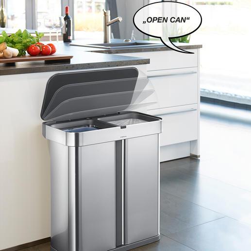 SmartCan Sensor Waste Bin - The better waste bin: Opens on your command.