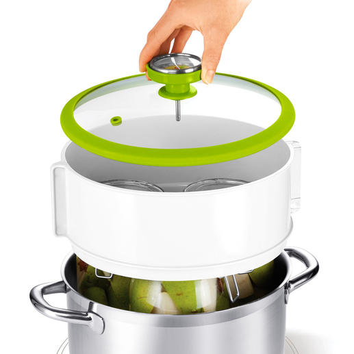 The attachable handle makes removing the jars easy.