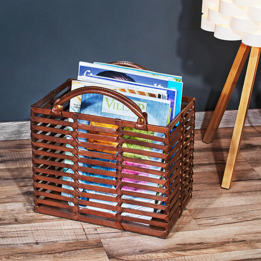 Perfect for storing your magazines for example.