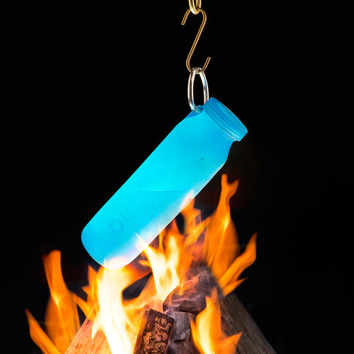 Also perfect for heating liquids over the campfire.