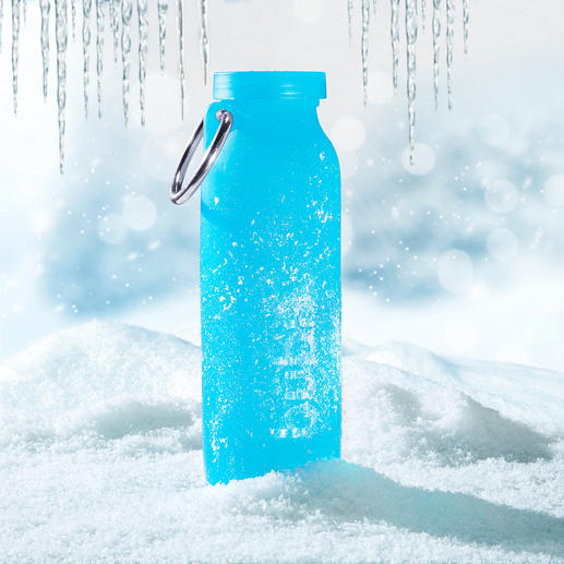 The bübi® bottle withstands extreme cold (up to -73°C) unscathed.