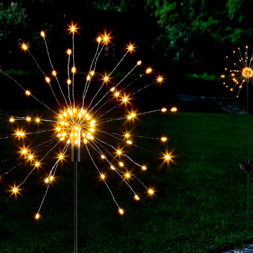 Solar Miracle Sparkler A fascinating display of the finest lights – like giant miracle sparklers.
