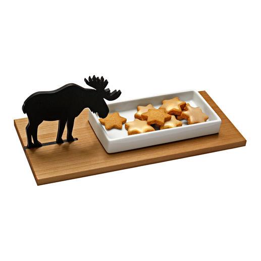Elk Biscuit Tray