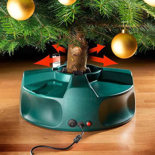 Electrical Christmas Tree Stand You've never set up your tree so quickly, easily and perfectly.