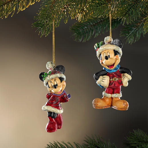 Disney Traditional Christmas Figurines