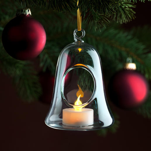 Glass Bell Baubles, Set of 6 Pure and simple. And never kitsch.