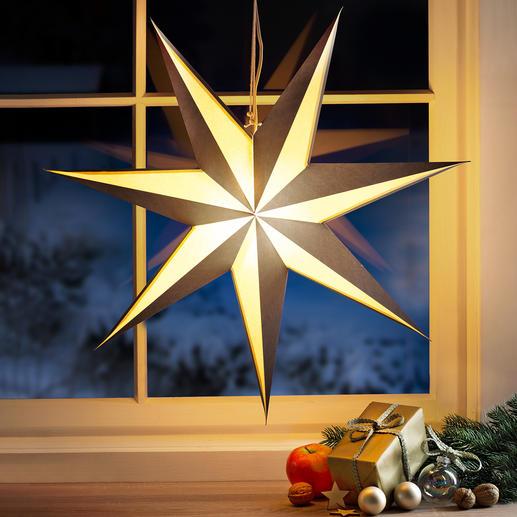 Folding Star Light Christmas classic in strikingly modern design.
