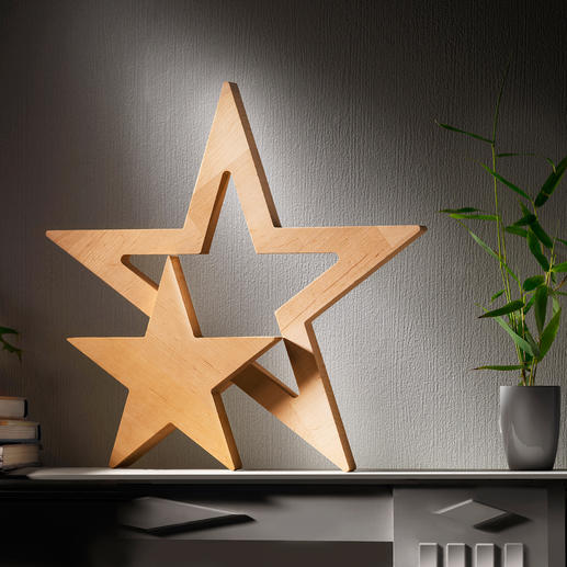 Star Duet Clean shape. Minimalistic design. Naturally beautiful alder wood.