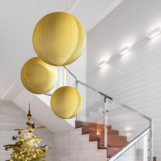Giant Christmas Globes - Fascinating as an individual piece – impressive as a group.