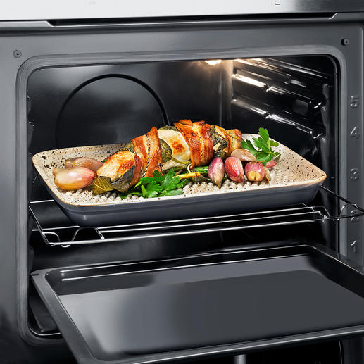 RÖMERTOPF® Lafer BBQ Dish - World's first: Grill with the original RÖMERTOPF® ceramic.