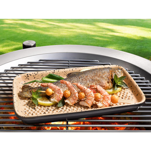 RÖMERTOPF® Lafer BBQ Dish World's first: Grill with the original RÖMERTOPF® ceramic.