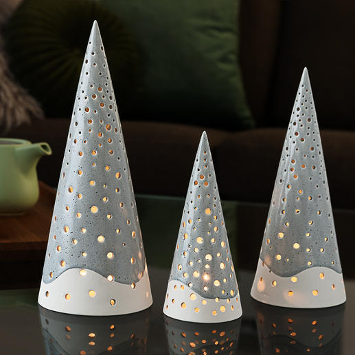 Nobili Tea Light Cones Wonderful Hygge style. Trendy Scandinavian design. By Kähler/Denmark - since 1839.