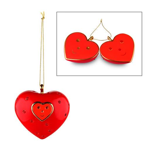 """Heart, 12 x 7,5 cm (4.7"""" x 3"""") (H x diameter)"""