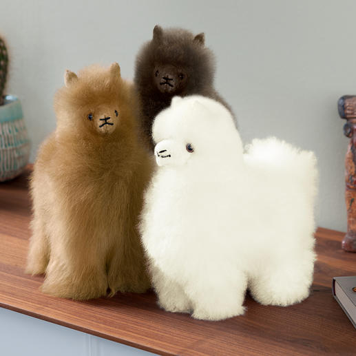 Baby alpaca - Charming decoration you can touch. Lovingly made by hand.