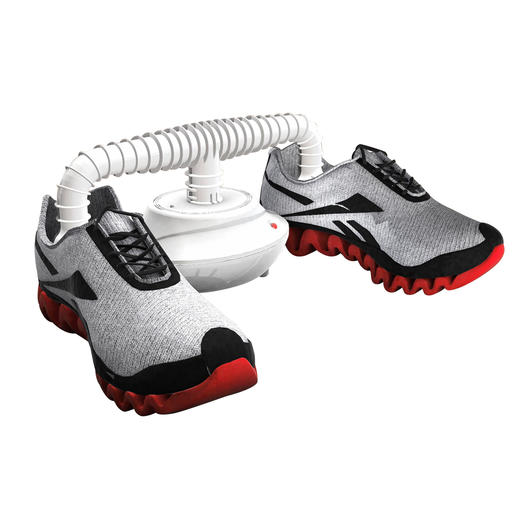 The shoe drying attachment included dries your shoes in less than 60 minutes.