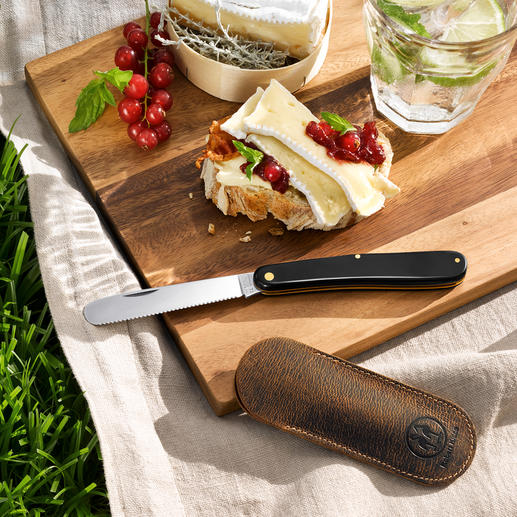 Pocket Fruit/Roll Knife - The perfect companion on the go. Manufactured using traditional craftsmanship.