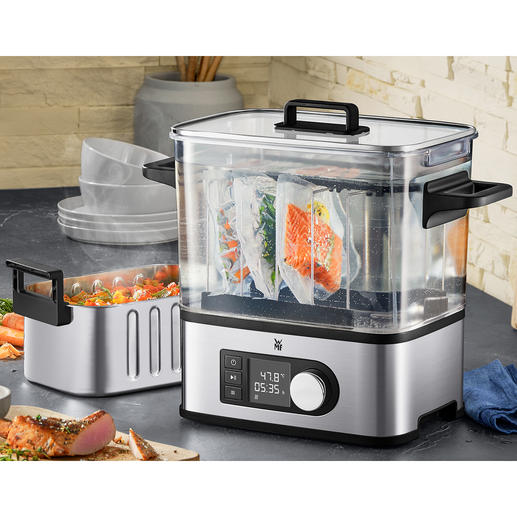 WMF Sous Vide Cooker Pro The sous vide cooker with the precision of expensive professional devices.