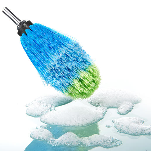 Professional Rim Brush - Thorough, gentle and quick. Made in Germany.