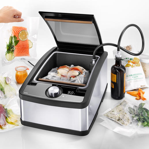 Chamber Vacuum Sealer MULTIVAC home The chamber vacuum-sealer of the pros – now also at home.