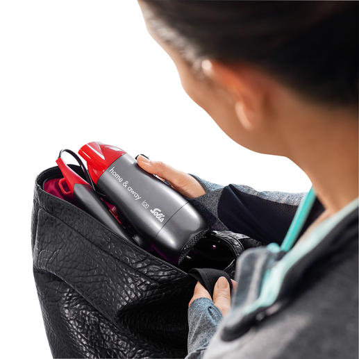 Fold it down for a perfect fit in your travel luggage or gym bag.